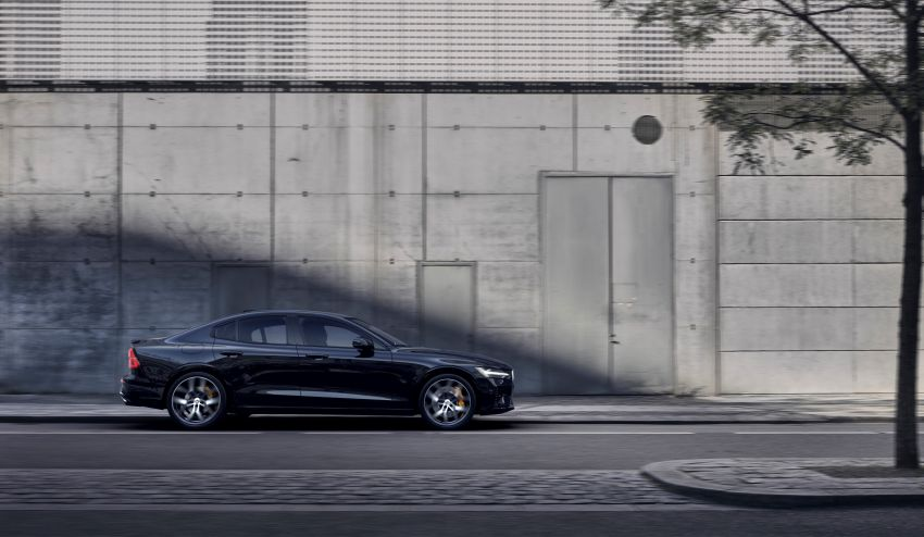 2019 Volvo S60 revealed – petrol powertrains only, optional Polestar Engineered upgrade, up to 415 hp Image #829296