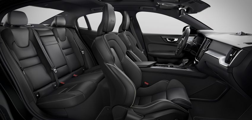 2019 Volvo S60 revealed – petrol powertrains only, optional Polestar Engineered upgrade, up to 415 hp Image #829255