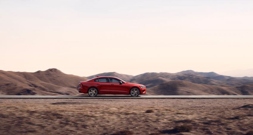 2019 Volvo S60 revealed – petrol powertrains only, optional Polestar Engineered upgrade, up to 415 hp Image #829271
