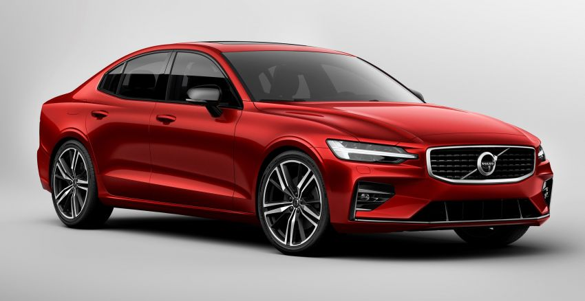 2019 Volvo S60 revealed – petrol powertrains only, optional Polestar Engineered upgrade, up to 415 hp Image #829236