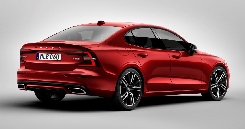 2019 Volvo S60 revealed – petrol powertrains only, optional Polestar Engineered upgrade, up to 415 hp Image #829239