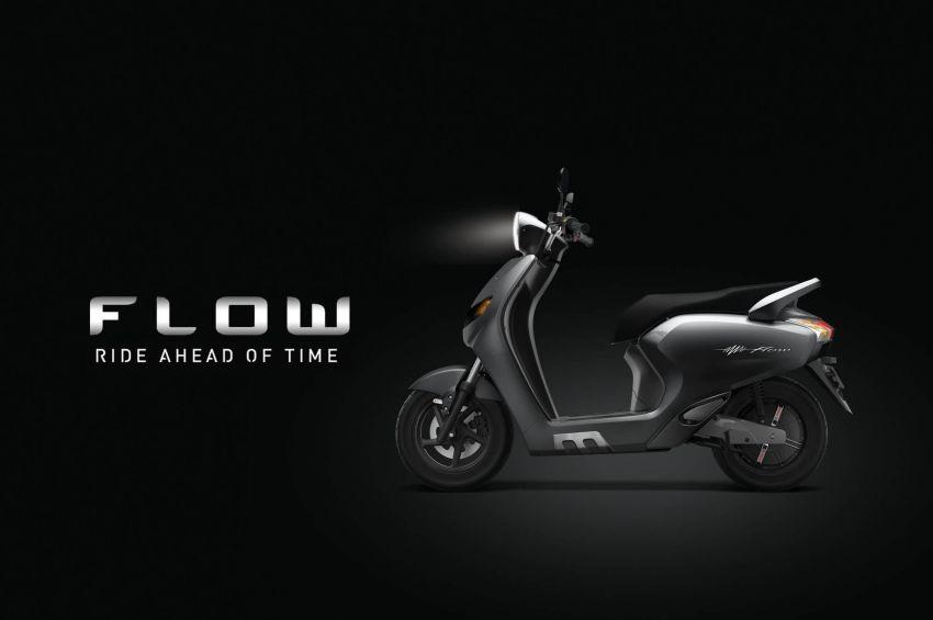 Twenty Two Motors Flow – skuter elektrik pintar dari India dengan sambungan Bluetooth dan sistem GPS Image #826495