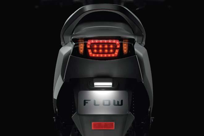 Twenty Two Motors Flow – skuter elektrik pintar dari India dengan sambungan Bluetooth dan sistem GPS Image #826497