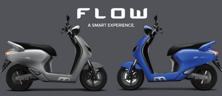 Twenty Two Motors Flow – skuter elektrik pintar dari India dengan sambungan Bluetooth dan sistem GPS Image #826499