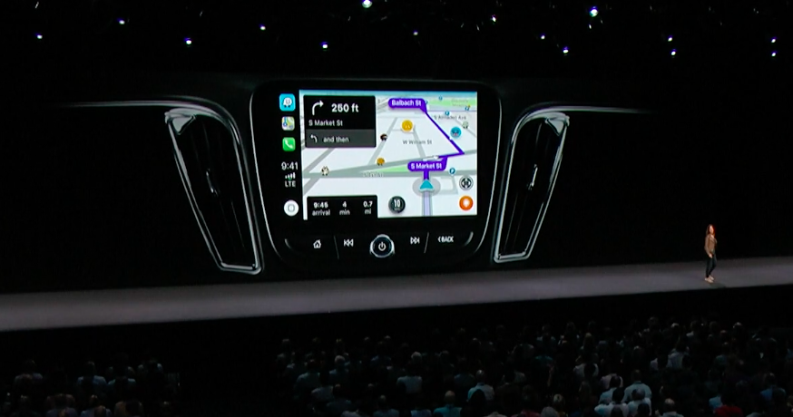 Apple CarPlay to support Waze, Google Maps in iOS 12