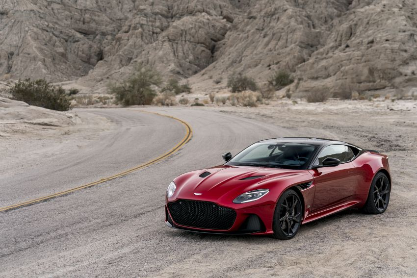 Aston Martin DBS Superleggera unveiled with 715 hp Image #831746
