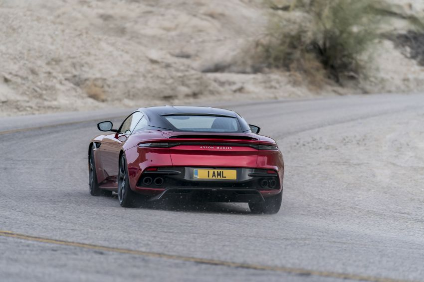 Aston Martin DBS Superleggera unveiled with 715 hp Image #831749