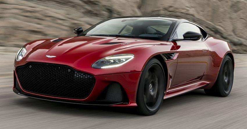 Aston Martin DBS Superleggera unveiled with 715 hp Image #831751