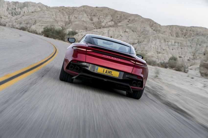 Aston Martin DBS Superleggera unveiled with 715 hp Image #831754