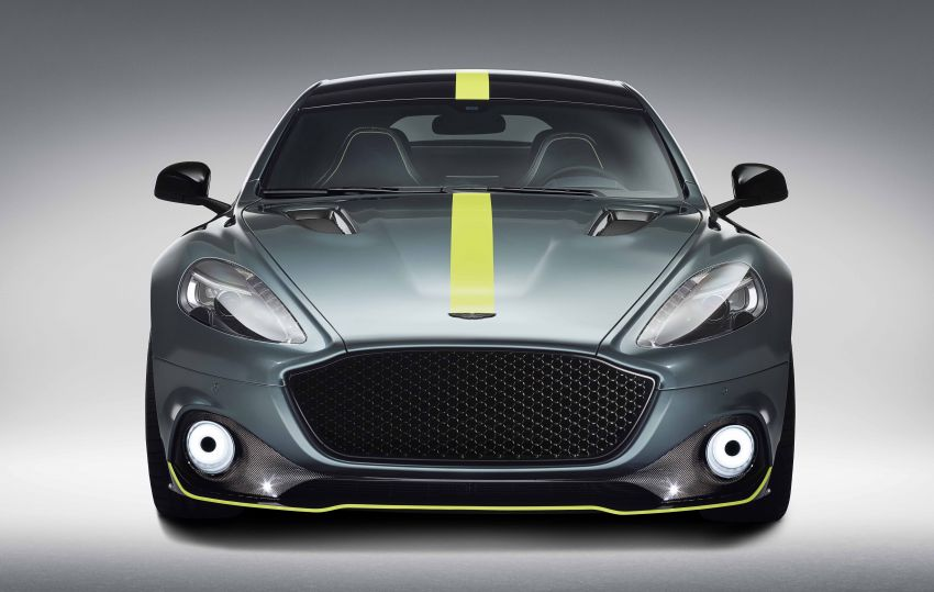 Aston Martin Rapide AMR revealed with 603 PS V12 Image #826534