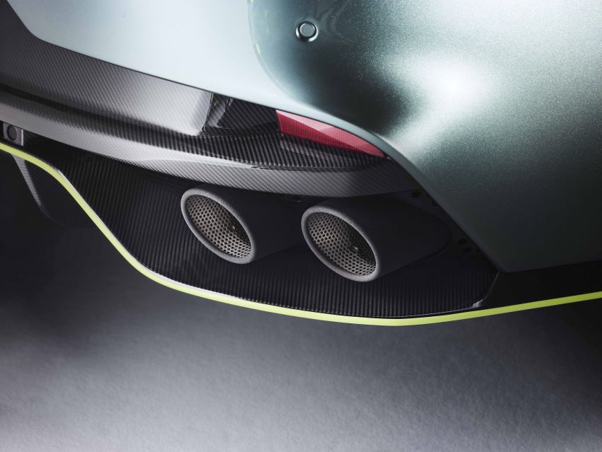 Aston Martin Rapide AMR revealed with 603 PS V12 Image #826600