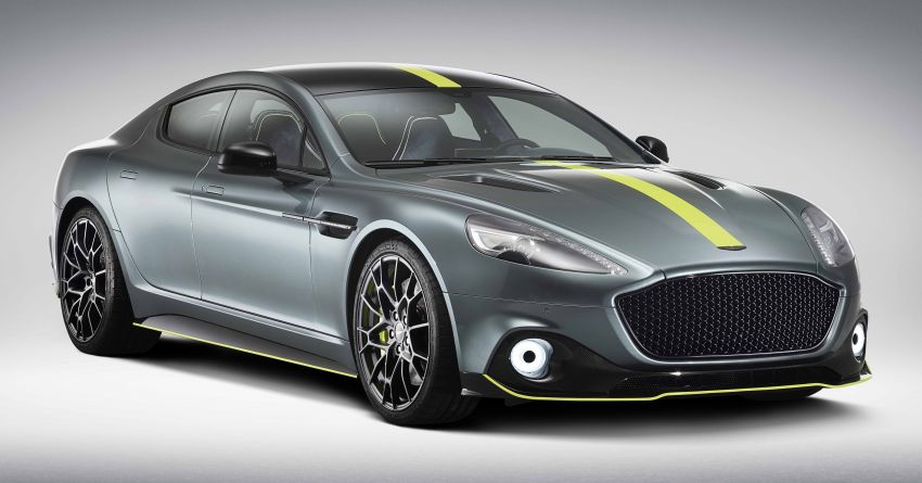 Aston Martin Rapide AMR revealed with 603 PS V12 Image #826535