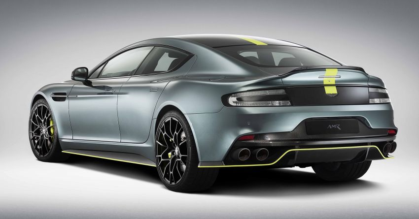 Aston Martin Rapide AMR revealed with 603 PS V12 Image #826537
