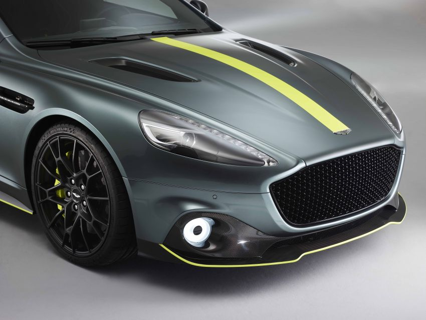 Aston Martin Rapide AMR revealed with 603 PS V12 Image #826594