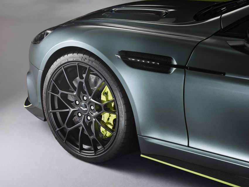 Aston Martin Rapide AMR revealed with 603 PS V12 Image #826595