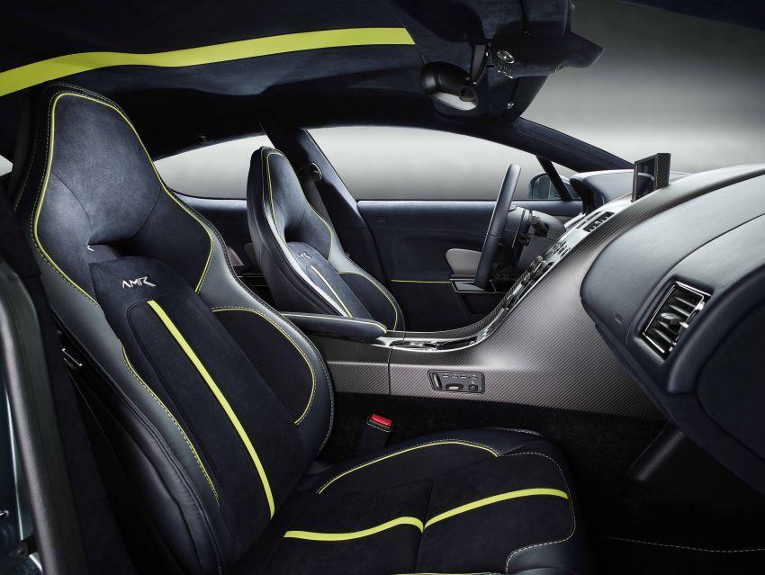 Aston Martin Rapide AMR – 603 PS daripada enjin V12 Image #826746