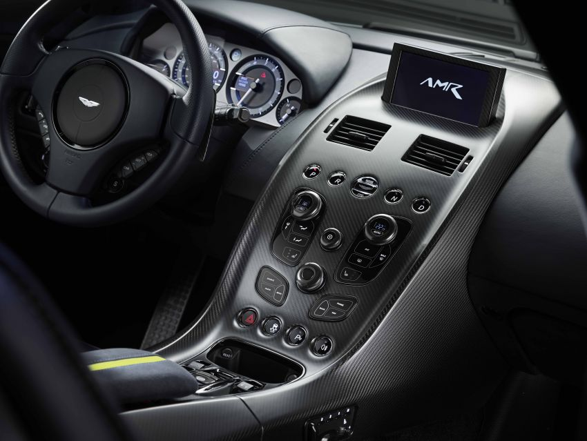 Aston Martin Rapide AMR revealed with 603 PS V12 Image #826599