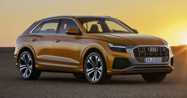 Audi Q8 Officially Revealed To Take On The Bmw X6