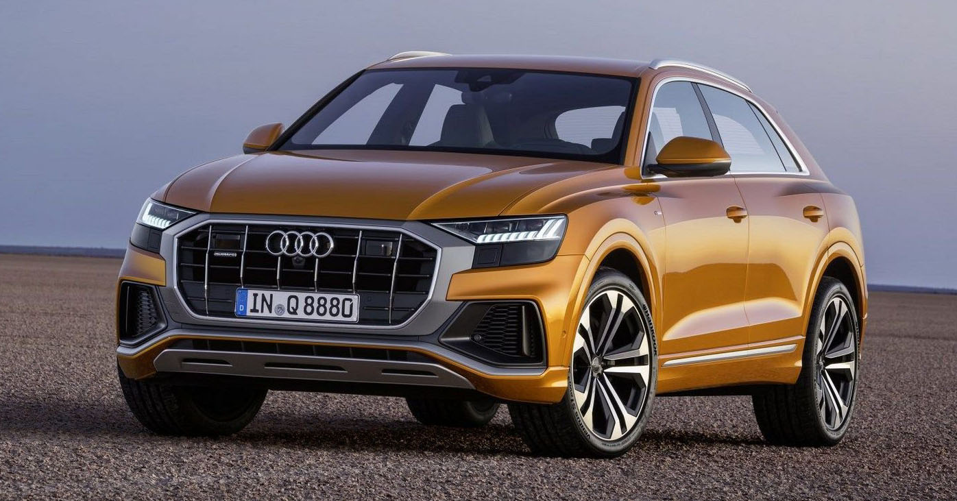 Audi Q8 First Pictures Of All New Suv Appear Online Paul