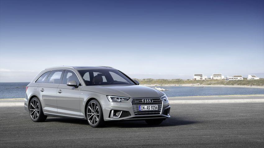 Audi A4 B9 <em>facelift</em> cuma tampilkan kelainan kosmetik Image #832224