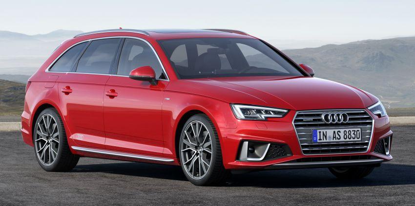 Audi A4 B9 <em>facelift</em> cuma tampilkan kelainan kosmetik Image #832237