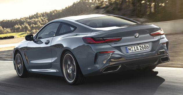 Bmw 8 Series New Flagship Sports Coupe Unveiled