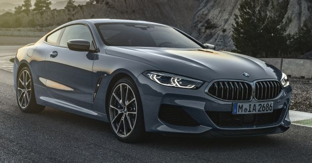 bmw 8 series new flagship sports coupe unveiled. Black Bedroom Furniture Sets. Home Design Ideas