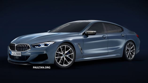 bmw 8 series gran coupe rendered yay or nay. Black Bedroom Furniture Sets. Home Design Ideas