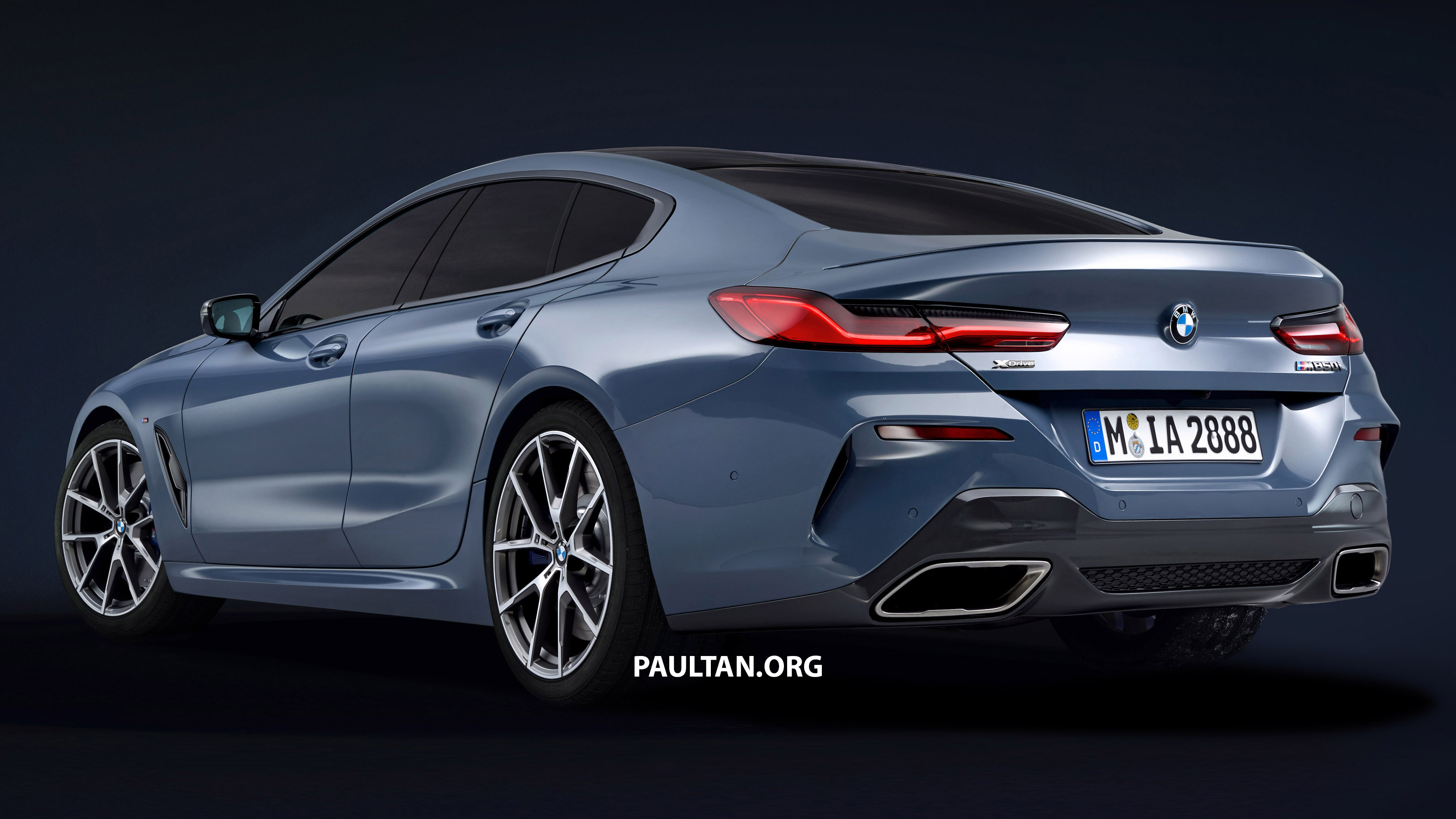 bmw 8 series gran coupe rendered yay or nay paul tan image 827797. Black Bedroom Furniture Sets. Home Design Ideas