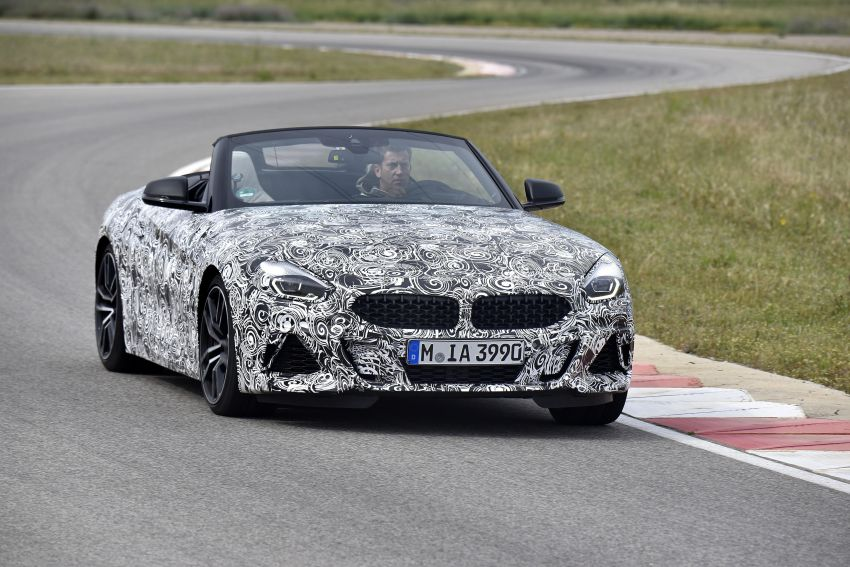 New BMW Z4 – official details and pics, video released Image #823397