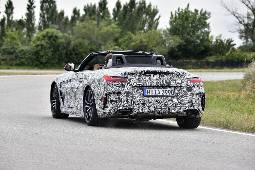 BMW Z4 2019 – perincian, gambar, video rasmi disiar Image #823590