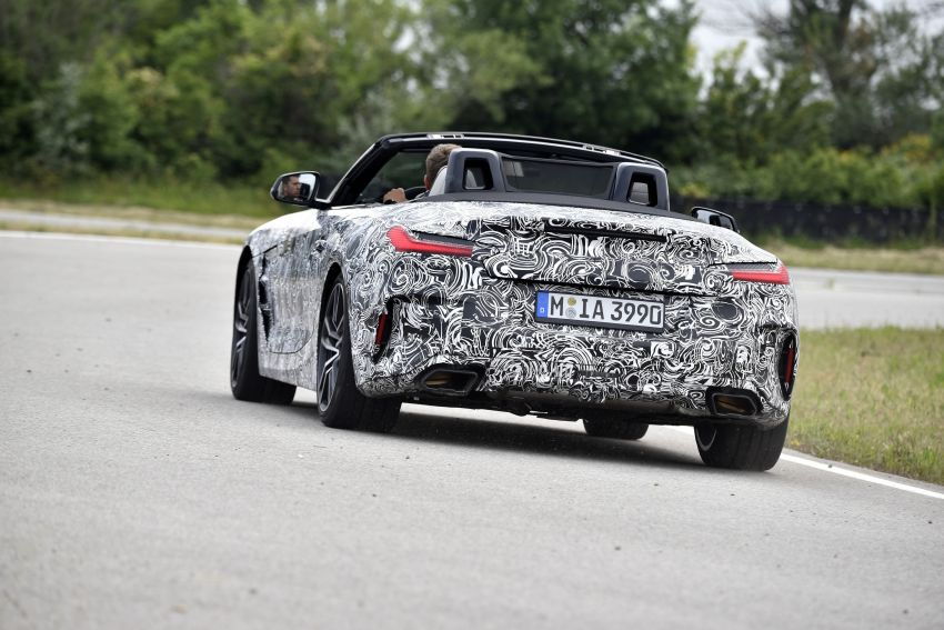 New BMW Z4 – official details and pics, video released Image #823399