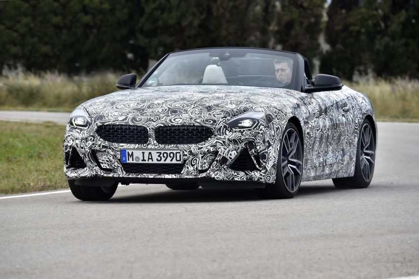 BMW Z4 2019 – perincian, gambar, video rasmi disiar Image #823591