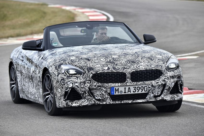 New BMW Z4 – official details and pics, video released Image #823401