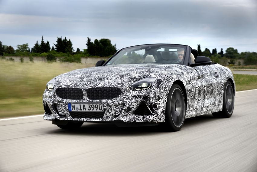 New BMW Z4 – official details and pics, video released Image #823402