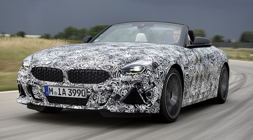 New BMW Z4 – official details and pics, video released Image #823403