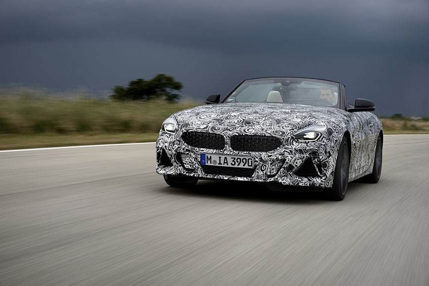 New BMW Z4 – official details and pics, video released Image #823405