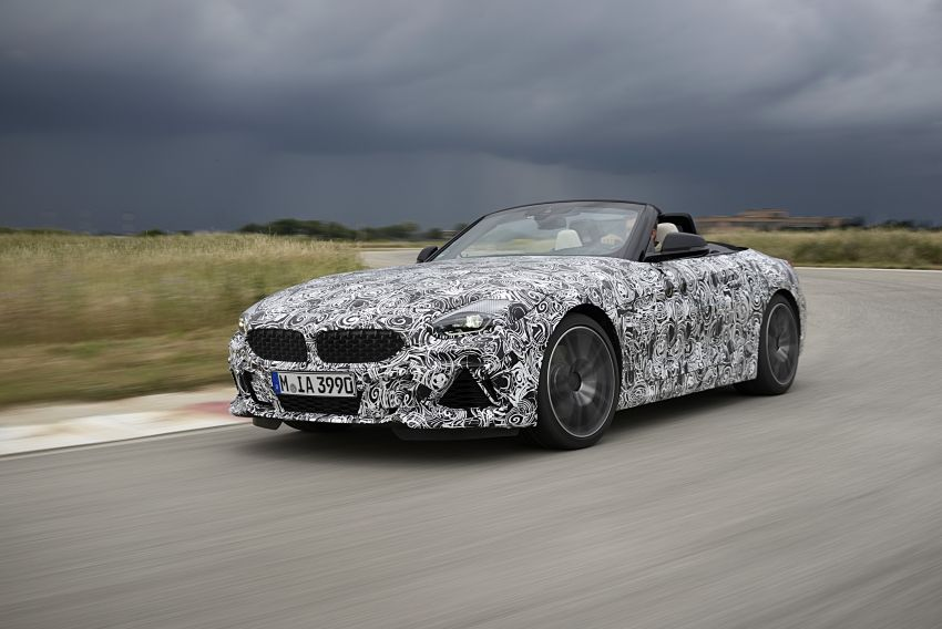 New BMW Z4 – official details and pics, video released Image #823406