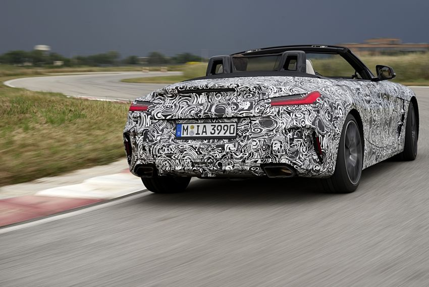New BMW Z4 – official details and pics, video released Image #823409