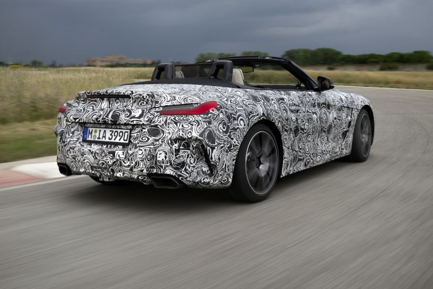 New BMW Z4 – official details and pics, video released Image #823410