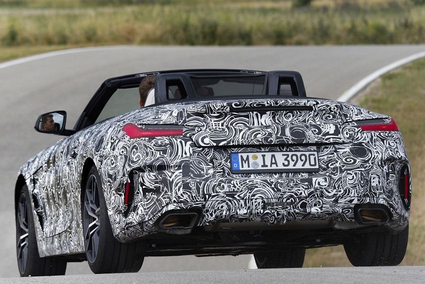 New BMW Z4 – official details and pics, video released Image #823411