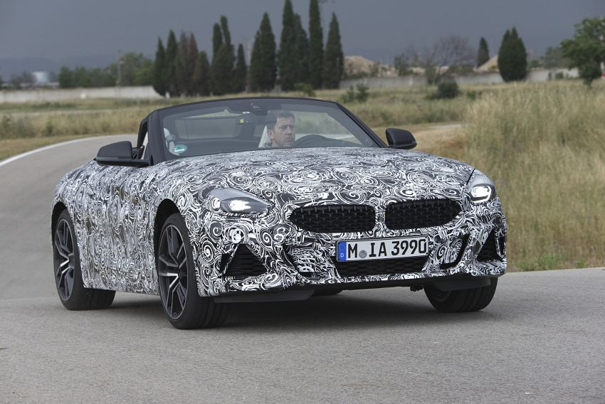New BMW Z4 – official details and pics, video released Image #823412