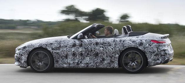 U201cThe Vehicle Concept Of The New BMW Z4 Is Geared Consistently Towards  Agility And Driving Dynamics. The High Level Of Body Stiffness And The Very  Rigid ...