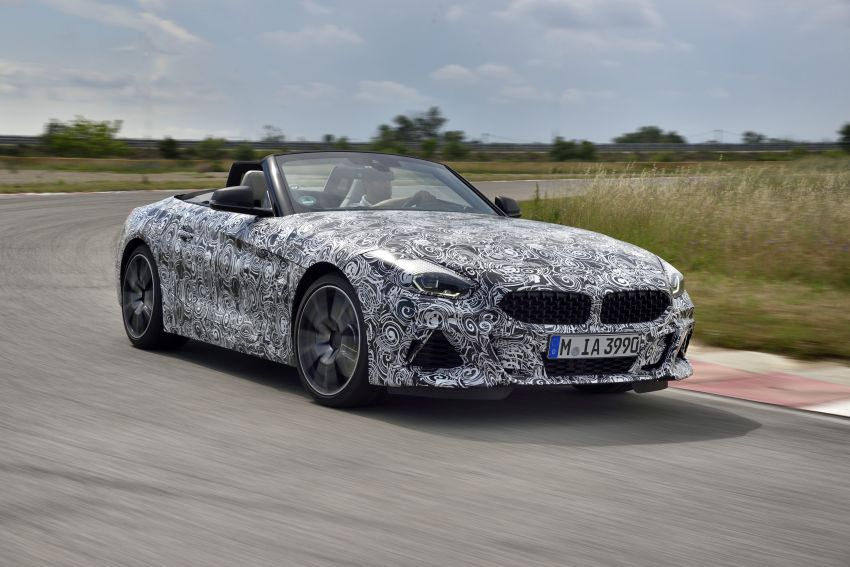 New BMW Z4 – official details and pics, video released Image #823416