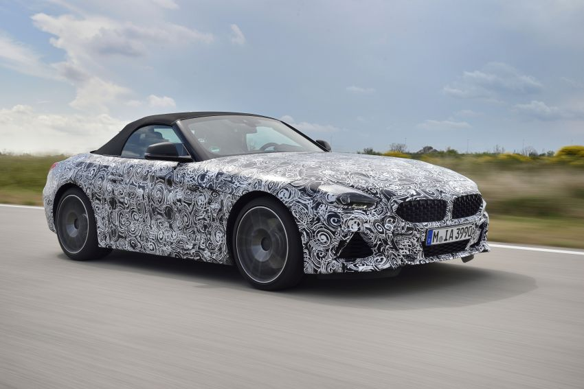 New BMW Z4 – official details and pics, video released Image #823418
