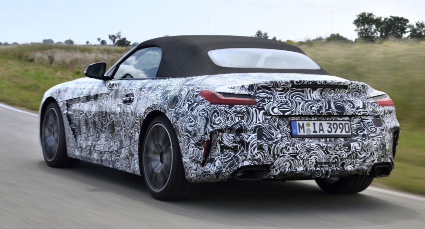 BMW Z4 2019 – perincian, gambar, video rasmi disiar Image #823600