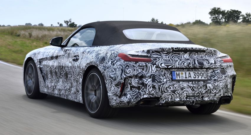 New BMW Z4 – official details and pics, video released Image #823419