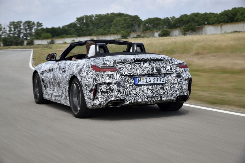 New BMW Z4 – official details and pics, video released Image #823420