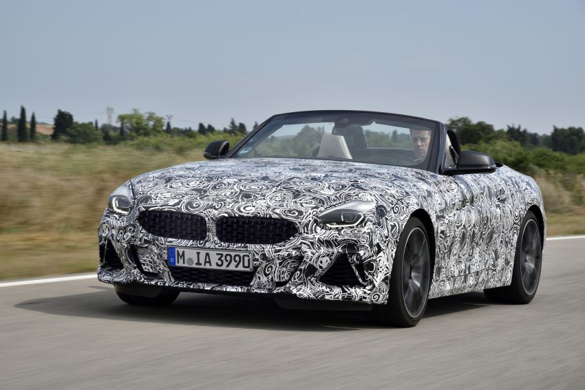 New BMW Z4 – official details and pics, video released Image #823421