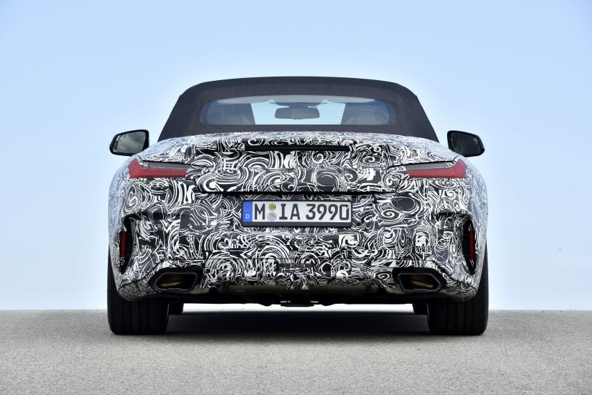 New BMW Z4 – official details and pics, video released Image #823423